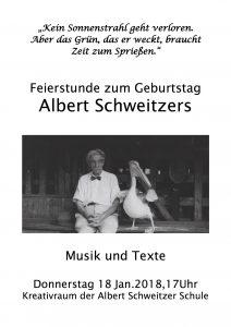 Albert Schweitzers Geburtstag