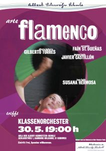 Flamenco trifft Klassenorchester