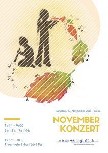 Einladung zum Novemberkonzert