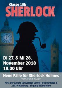 Sherlock – Klassenspiel der 10b