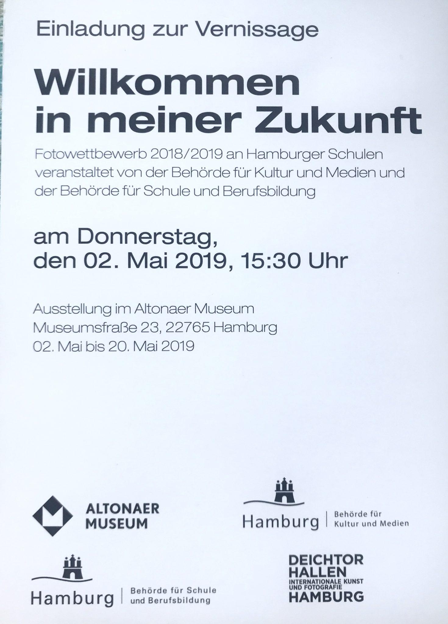 Fotoausstellung im Altonaer Museum -Wir sind dabei! 02.05.2019